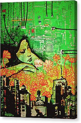 Hive Mind 2.0 Canvas Print by dreXeL