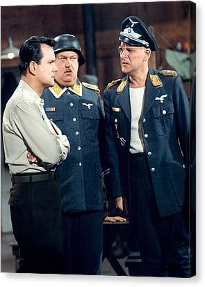 Hogan's Heroes  Canvas Print by Silver Screen