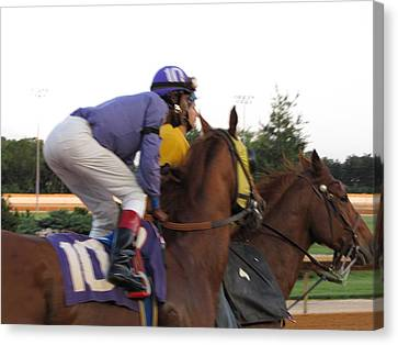 Hollywood Casino At Charles Town Races - 12123 Canvas Print by DC Photographer