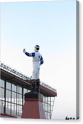 West Canvas Print - Hollywood Casino At Charles Town Races - 12124 by DC Photographer