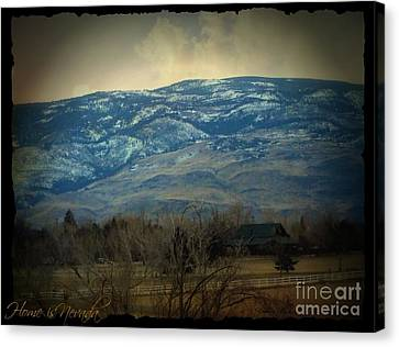 Home Is Nevada Canvas Print