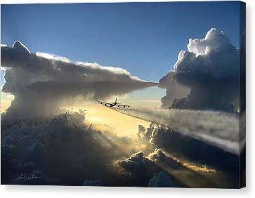 Homeward Bound Canvas Print by Peter Chilelli