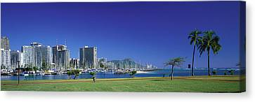 Honolulu Hawaii Canvas Print by Panoramic Images