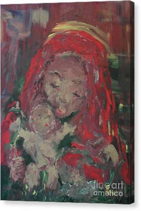 Canvas Print featuring the painting Hope  by Laurie Lundquist