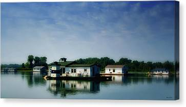 Horseshoe Pond Canvas Print