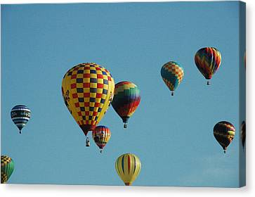 Hot Air Canvas Print - Hot Air Balloons by Gary Marx