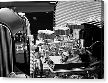 Hot Rod Engine Canvas Print