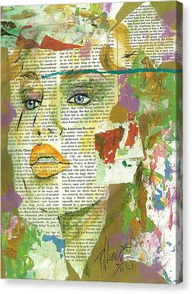 I Have News Canvas Print by P J Lewis