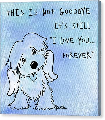 I Love You Forever Canvas Print by Kim Niles