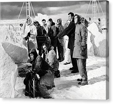 Ice Station Zebra  Canvas Print by Silver Screen