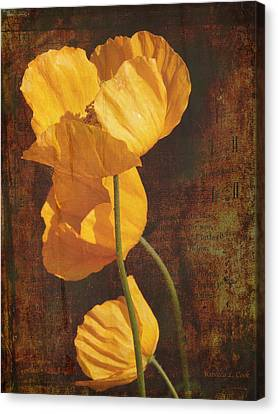 Icelandic Poppy Canvas Print by Bellesouth Studio