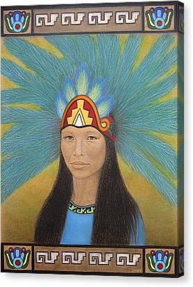 Ichpochtli Canvas Print