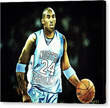 If They Played In College Canvas Print by Edward Pegues