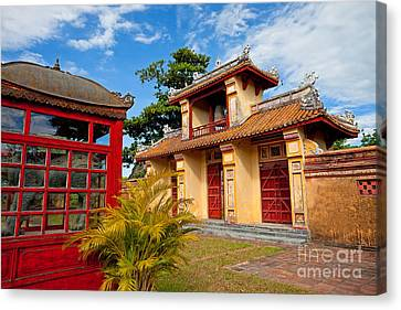 Imperial City Of Hue Vietnam Canvas Print by Fototrav Print