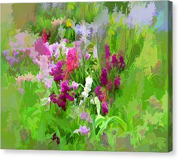 Impressions Of Spring Canvas Print by Jessica Jenney