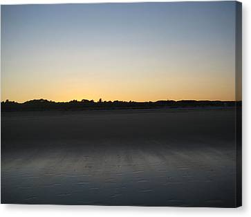 In The Shadow Of The Dunes Canvas Print