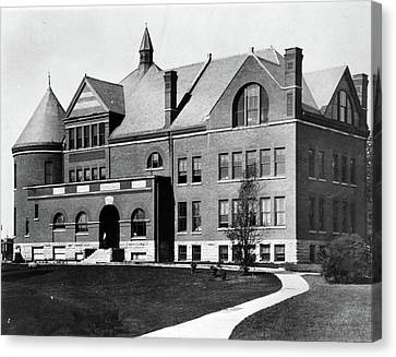 Canvas Print featuring the photograph Iowa State University, C1900 by Granger