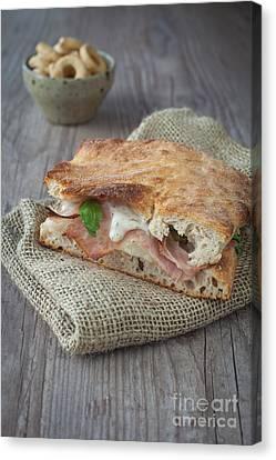 Italian Sandwich Canvas Print by Sabino Parente