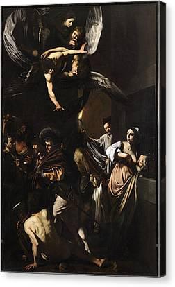 Italy, Campania, Naples, Pio Monte Canvas Print