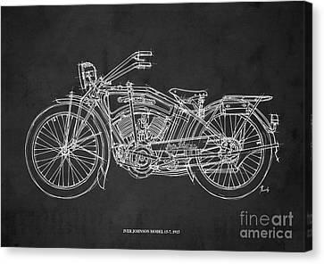 Iver Johnson 1915 Canvas Print by Pablo Franchi