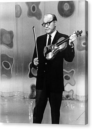 Jack Benny Canvas Print by Silver Screen