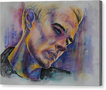 James Marsters Canvas Print by Francoise Dugourd-Caput