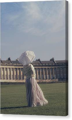 Jane Austen Canvas Print by Joana Kruse