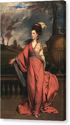 Jane Fleming, Later Countess Canvas Print by Sir Joshua Reynolds