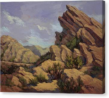 Vasquez Sunpocket Canvas Print by Jane Thorpe