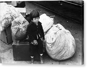 Japanese Internment, 1942 Canvas Print