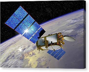 Jason-3 Satellite Canvas Print