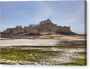 Jersey - Elizabeth Castle Canvas Print by Joana Kruse