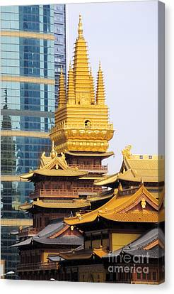 Jin An Temple Shanghai Canvas Print