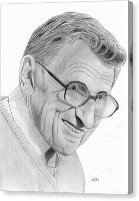 Joe Paterno Canvas Print