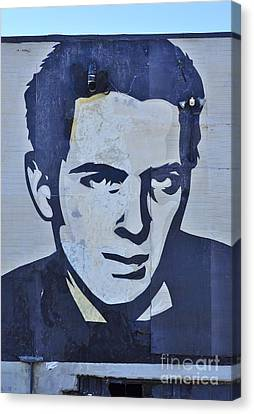 Joe Strummer Canvas Print by Allen Beatty