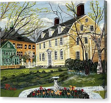 John Paul Jones House Canvas Print