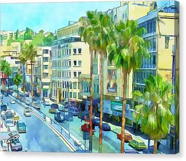 Jordan/amman/downtown Canvas Print by Fayez Alshrouf
