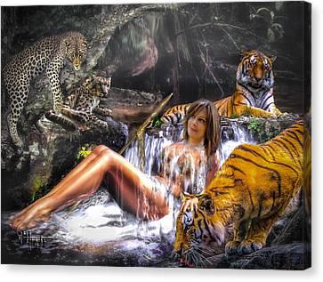 Jungle Ginns Canvas Print
