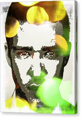 Justin Timberlake Canvas Print by Svelby Art