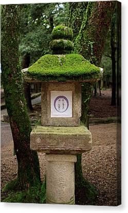 Kasuga-taisha Shrine In Nara, Japan Canvas Print by Paul Dymond