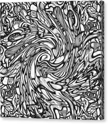 #2 Keiko Series  Canvas Print by George Curington