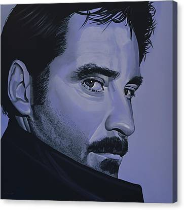 Kevin Kline Canvas Print by Paul Meijering