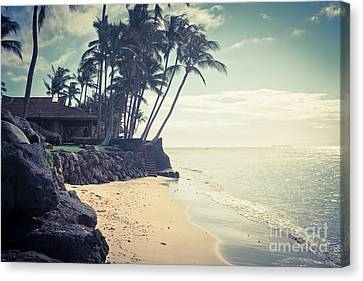 Canvas Print featuring the photograph Kihei Maui Hawaii by Sharon Mau
