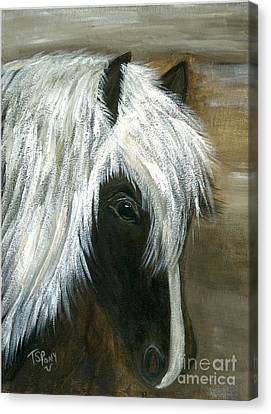 Canvas Print featuring the painting Kola by Barbie Batson