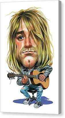 Kurt Cobain Canvas Print by Art
