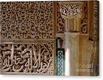 La Alhambra Granada Canvas Print by Guido Montanes Castillo