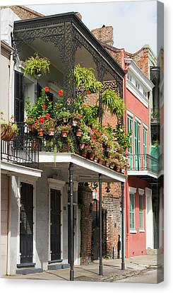 Jamie Canvas Print - La, New Orleans, French Quarter by Jamie and Judy Wild