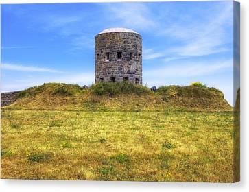 La Rousse Tower - Guernsey Canvas Print