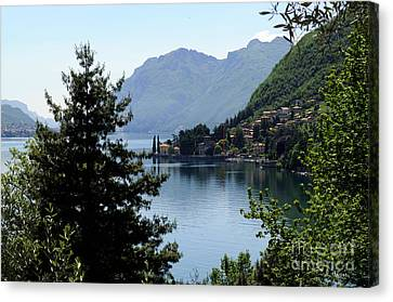 Lake Como Italy  Canvas Print by Haleh Mahbod