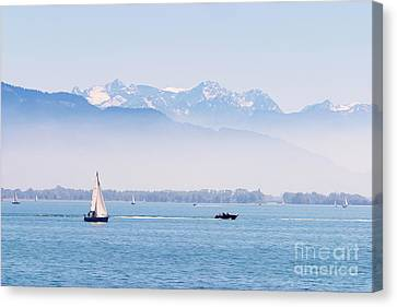 Lake Of Constance Canvas Print